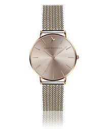 Sunray Toned Mesh watch
