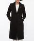 Black single breasted longline coat Sale - Dewberry Sale