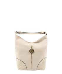 Sand studded slouch bag