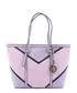 Purple & black chevron shopper bag Sale - V ITALIA BY VERSACE 1969 ABBIGLIAMENTO SPORTIVO SRL MILANO ITALIA Sale