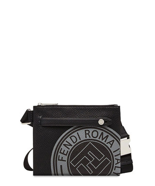7f384b3e37 Black leather logo waist bag Sale - fendi Sale