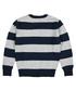 Boys' navy cotton & wool stripe jumper Sale - Polo Club St.Martin Sale