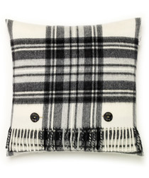 Cream lambswool feather filled cushion