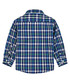 Boys' blue pure cotton check shirt Sale - polo club st. martin Sale