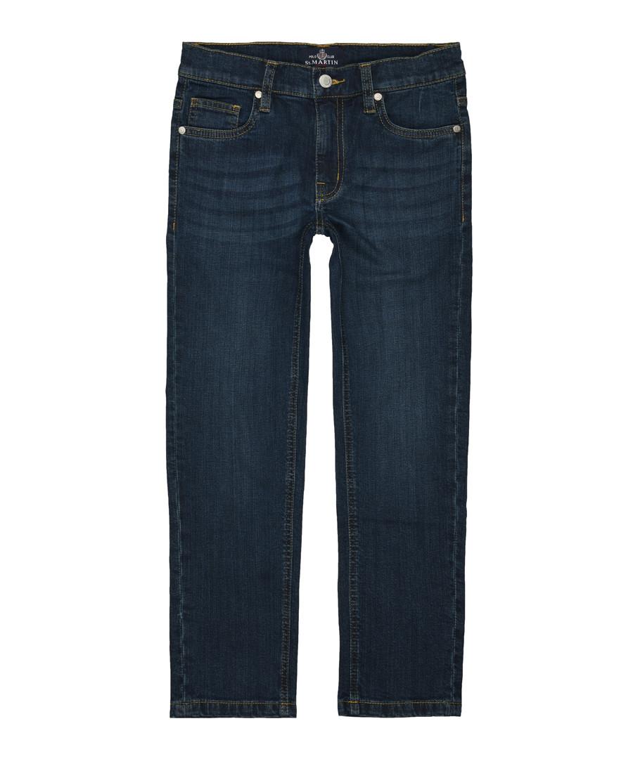 Boys' navy cotton jeans Sale - polo club st. martin