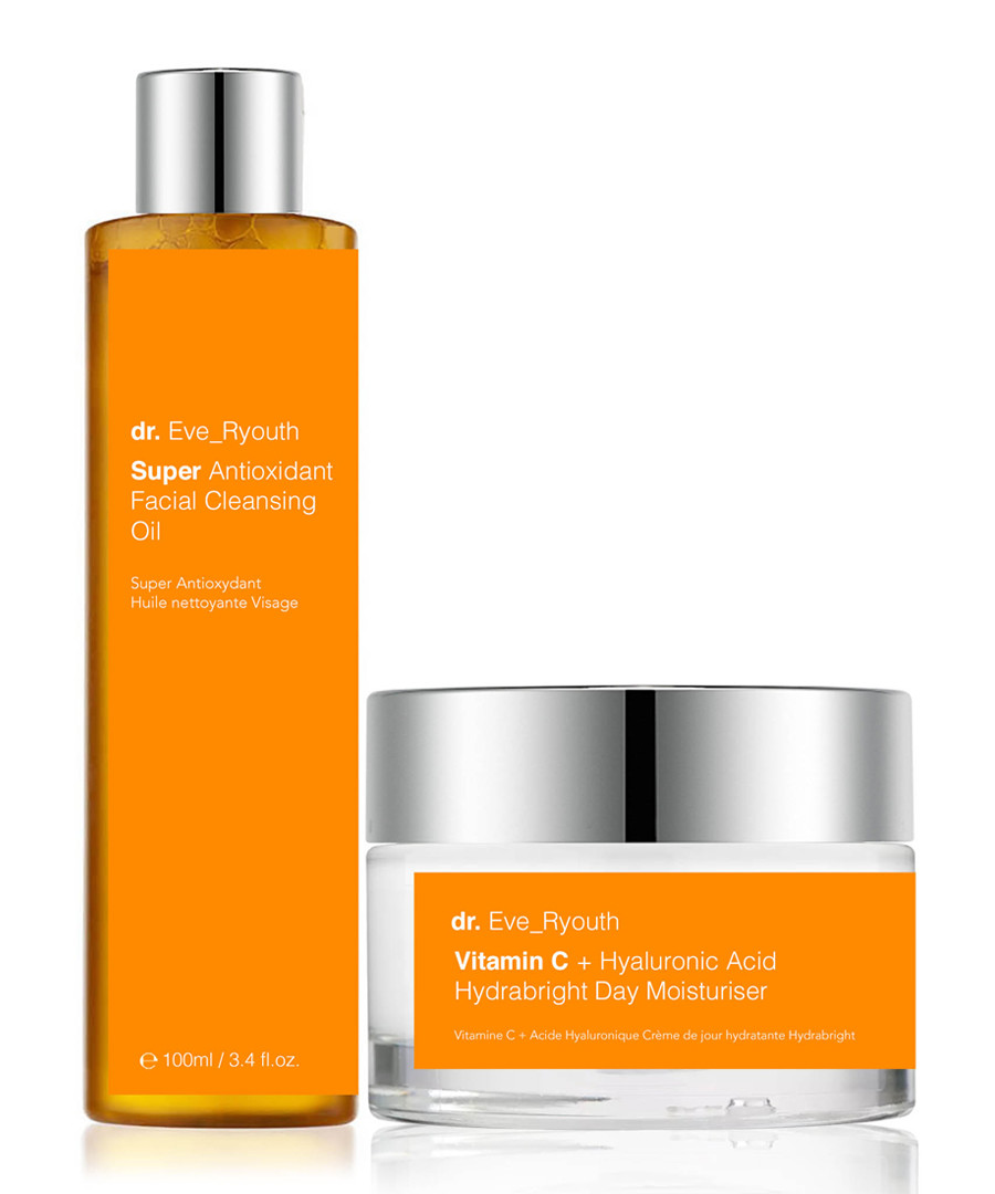 2pc cleansing oil & day cream set Sale - dr ever youth