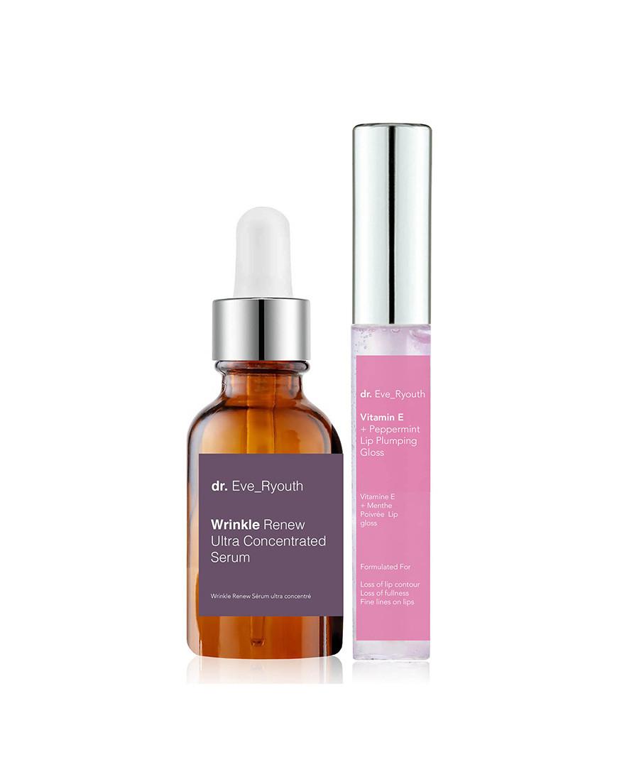 2pc Wrinkle Renew serum & lip plump set Sale - dr ever youth