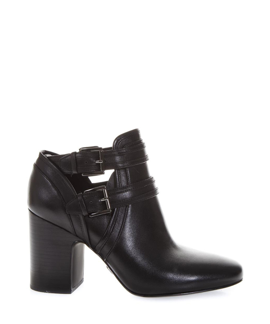 Back suede buckle heeled boots Sale - michael kors