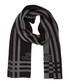 Black & grey wool blend scarf Sale - versace collection Sale