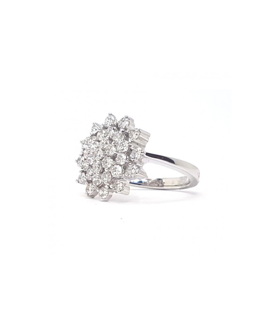 6550719850b6a Discount 1ct round diamond cluster ring | SECRETSALES