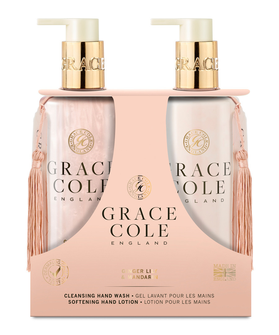 2pc ginger lily & mandarin hand care set Sale - grace cole