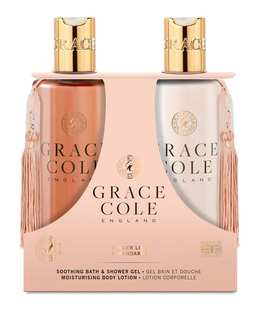2pc ginger lily & mandarin body care set Sale - grace cole