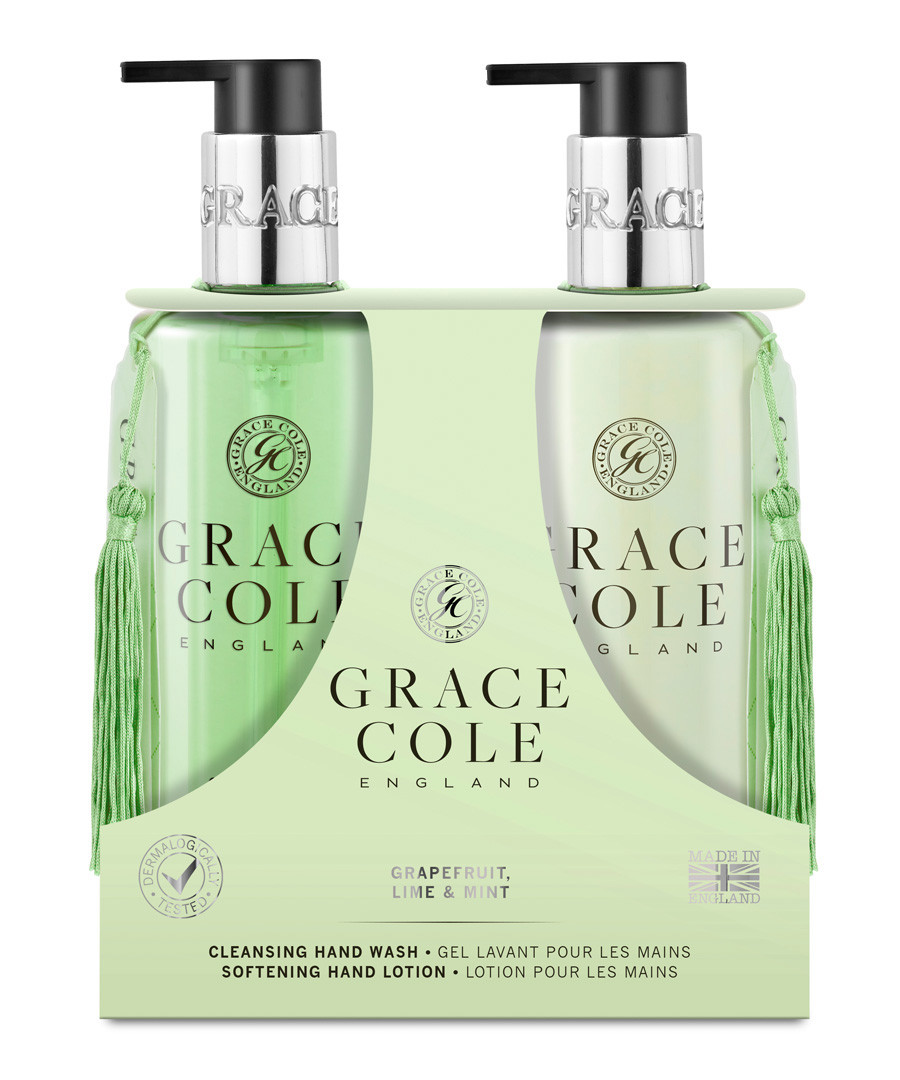 2pc Grapefruit Lime & Mint hand care set Sale - Grace Cole