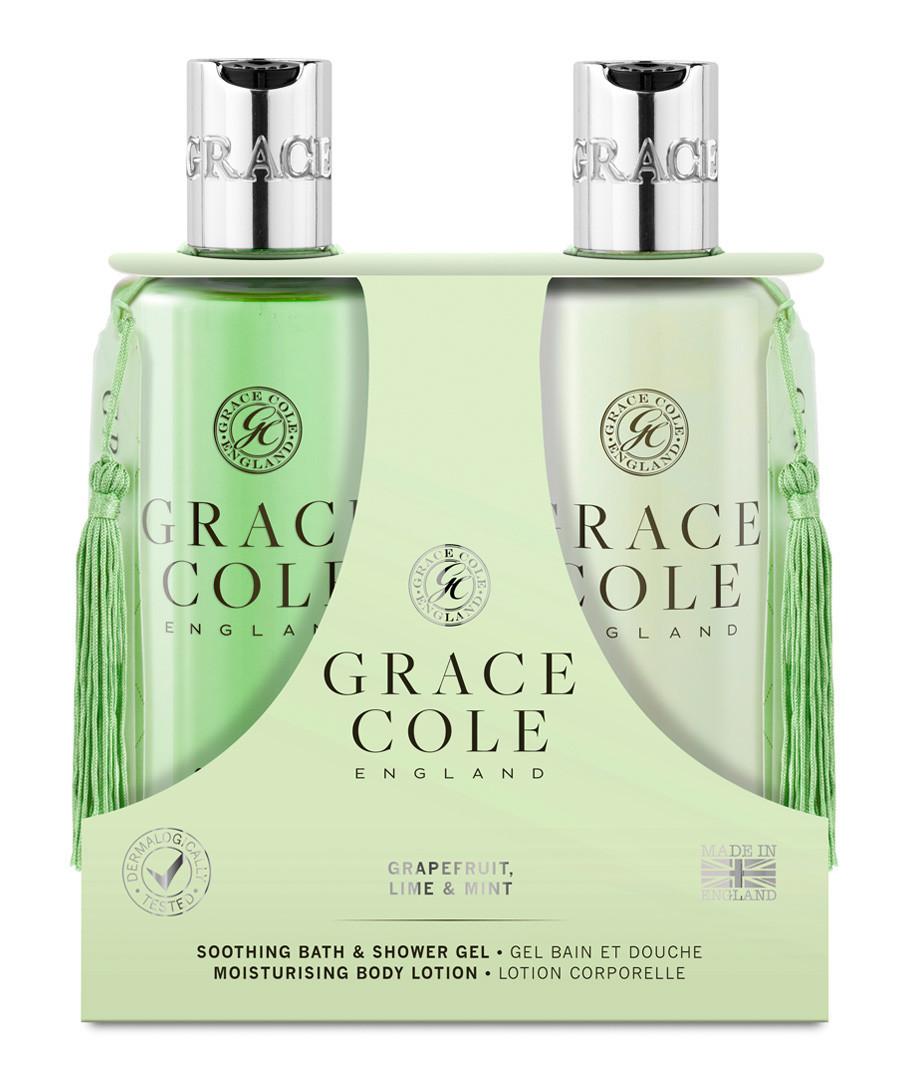 2pc Grapefruit Lime & Mint body care set Sale - grace cole
