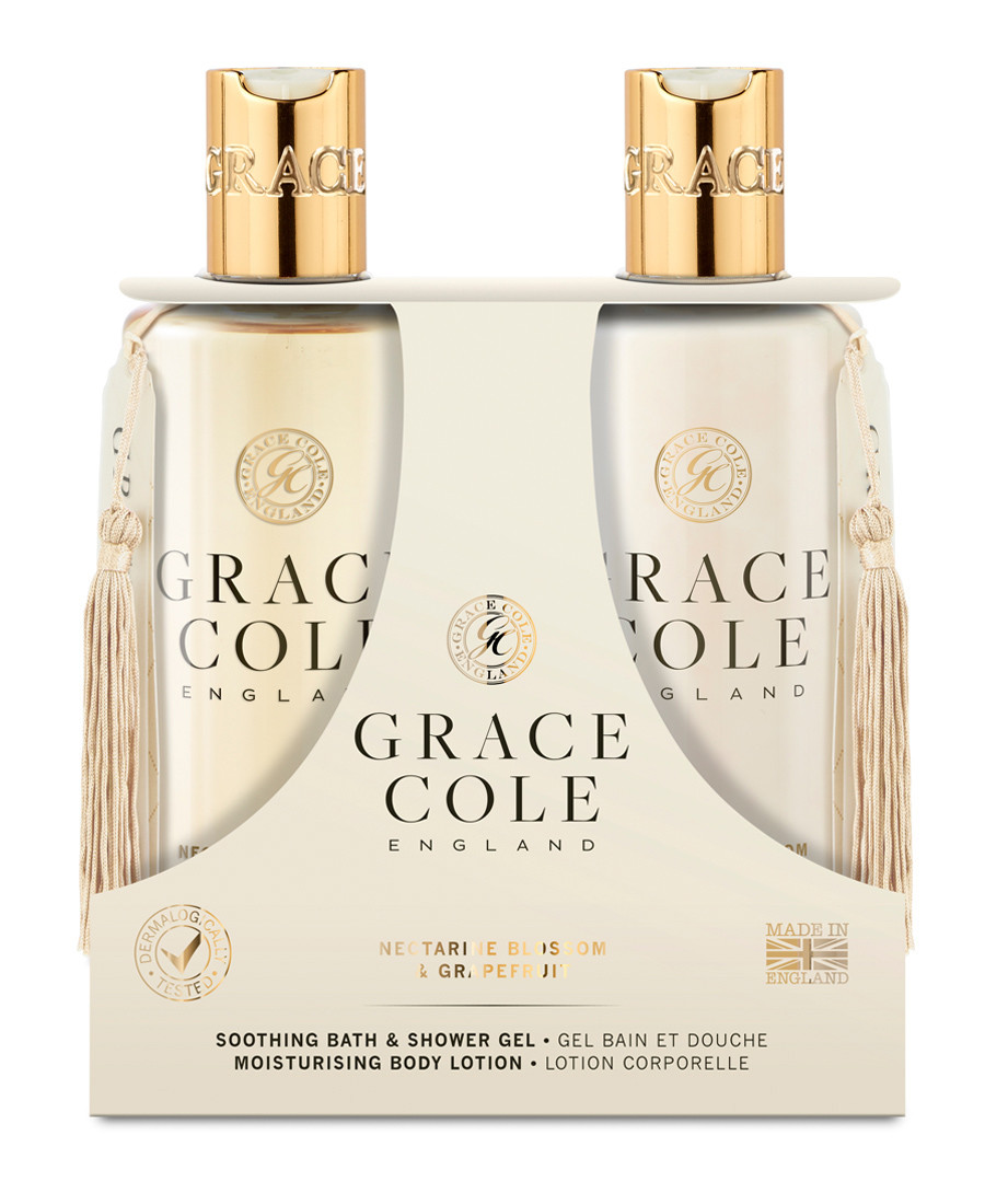 2pc Nectarine & Grapefruit hand care set Sale - grace cole