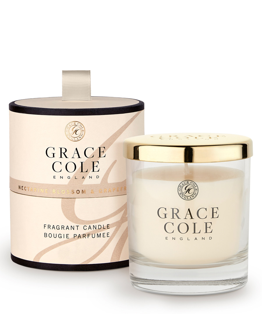 Nectarine & Grapefruit candle Sale - grace cole