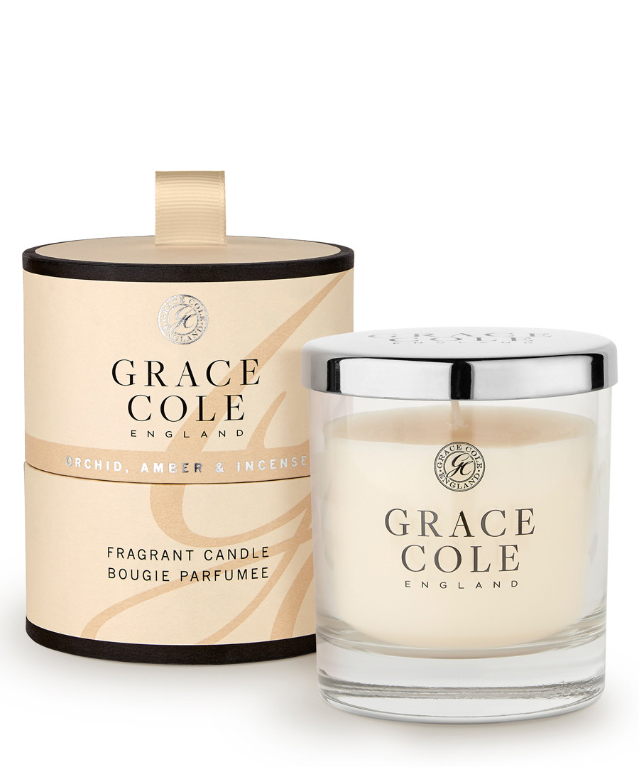 Orchid Amber & Incense candle Sale - grace cole