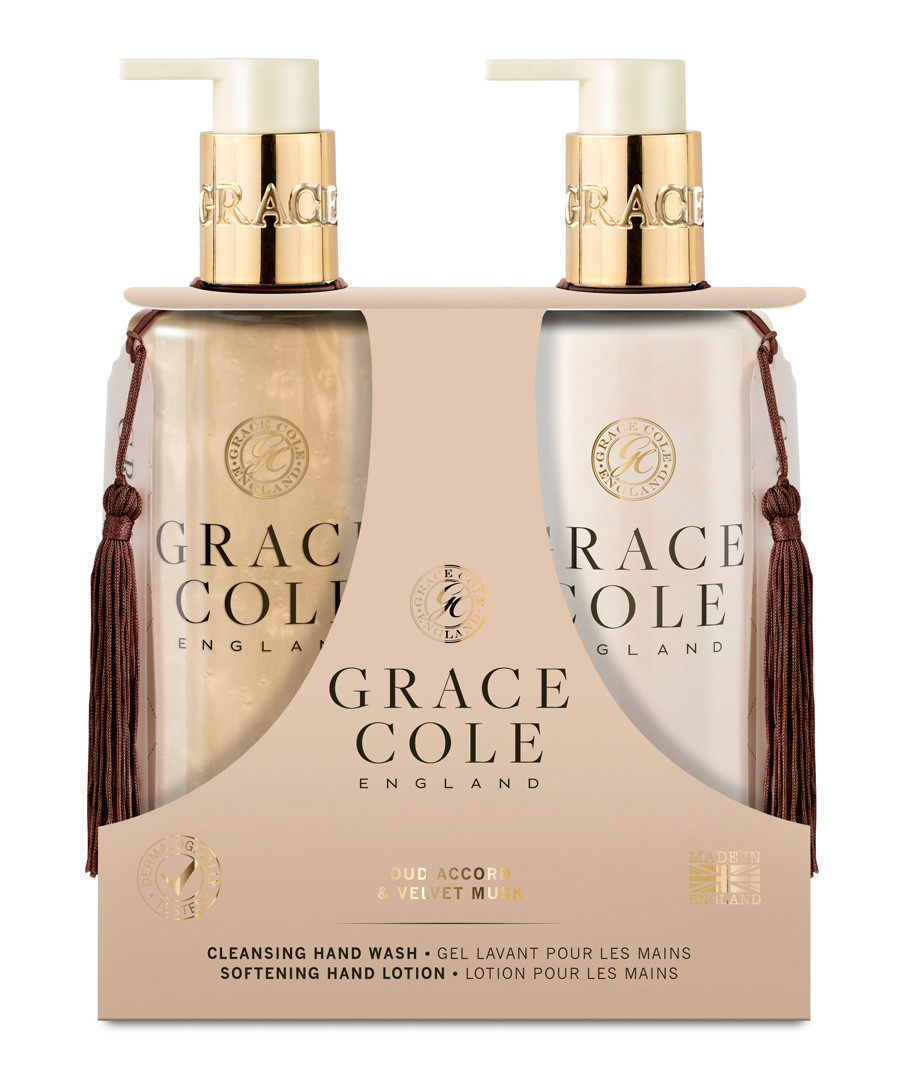 2pc Oud Accord & Velvet Must hand care Sale - Grace Cole