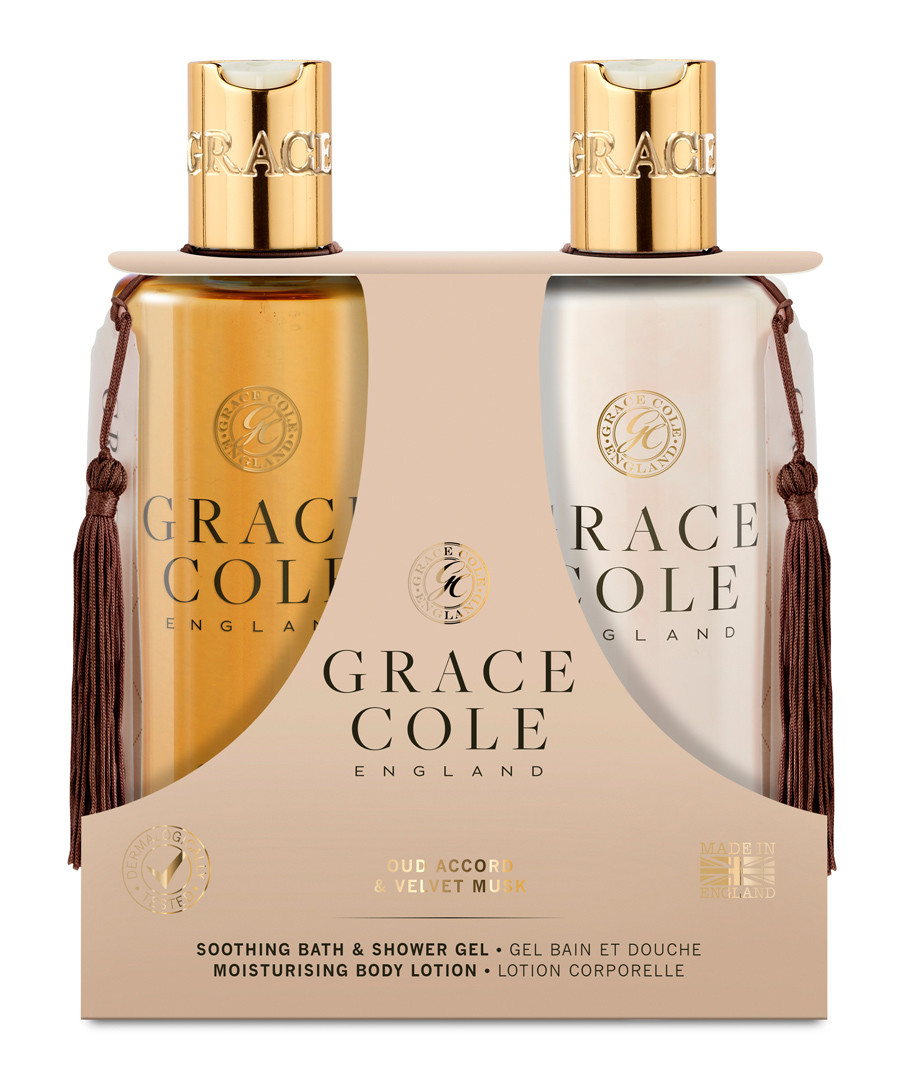 2pc Oud Accord & Velvet Must body care Sale - grace cole