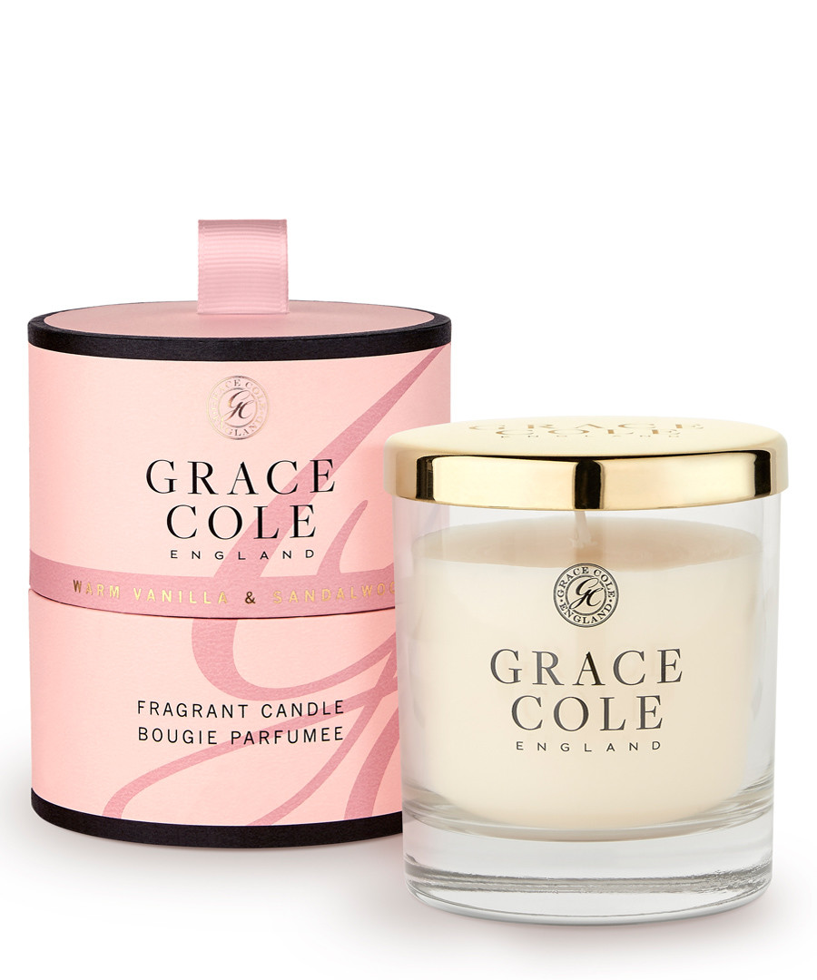 Vanilla & Sandalwood candle 200g Sale - grace cole