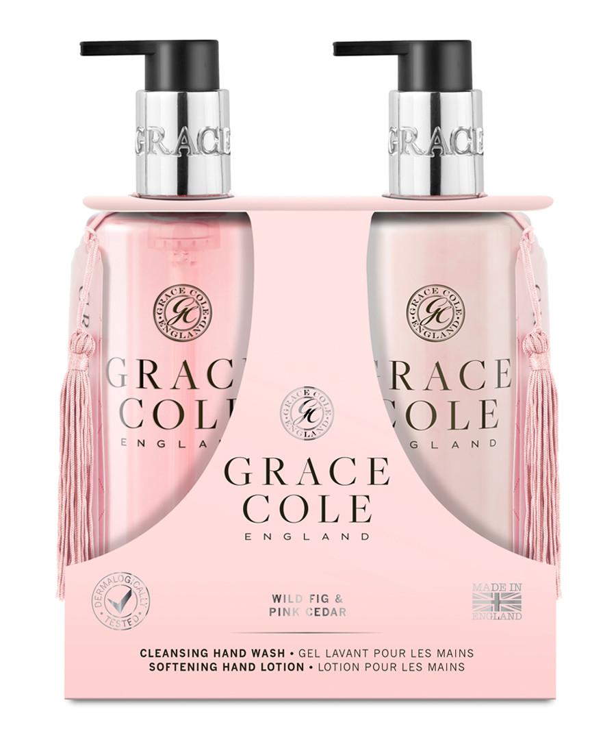 2pc Wild Fig & Pink Cedar hand care set Sale - grace cole