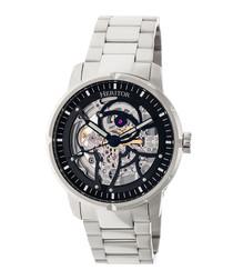 Ryder silver-tone steel watch