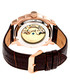 Helmsley brown leather watch Sale - heritor automatic Sale