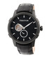 Callisto black leather watch Sale - heritor automatic Sale
