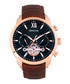Arthur brown leather watch Sale - heritor automatic Sale