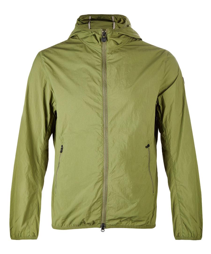 Green lightweight hooded jacket Sale - COLMAR