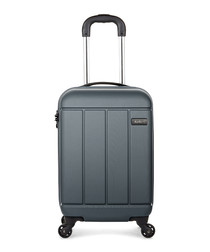Charcoal spinner cabin suitcase 55cm