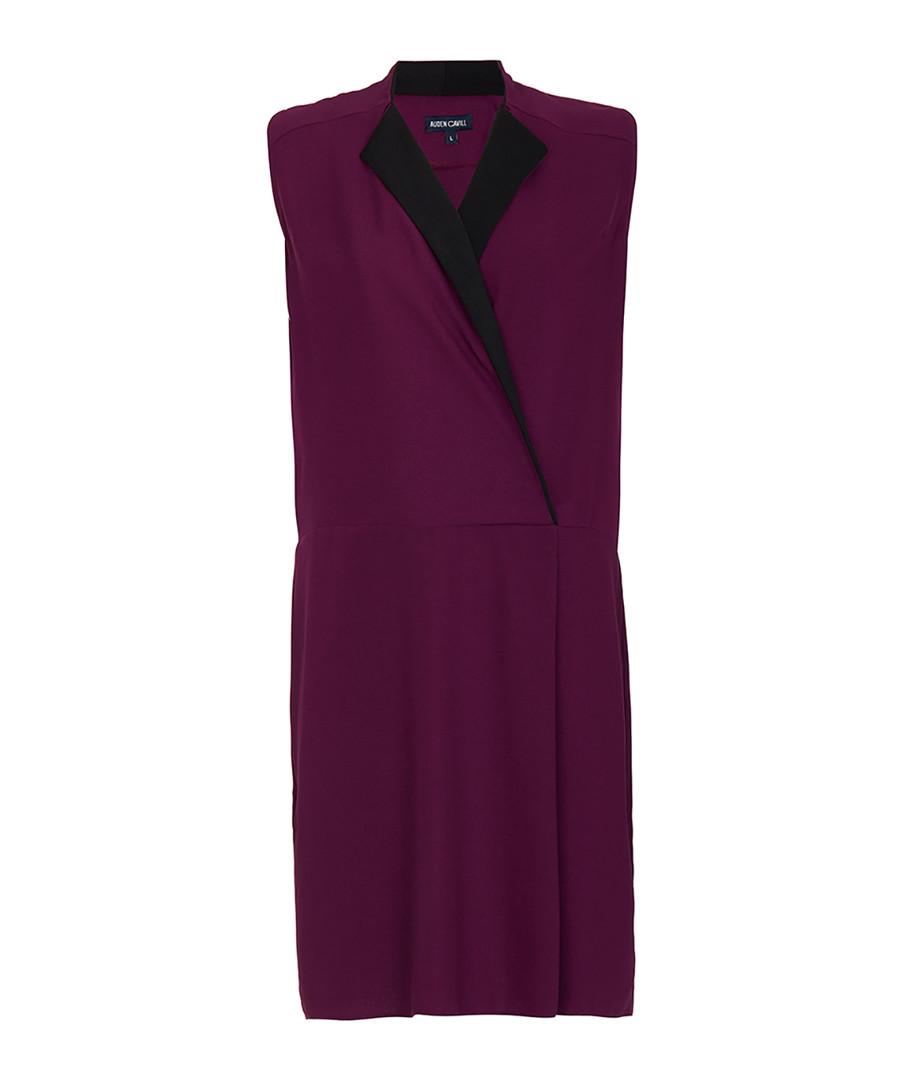 Damson sleeveless mini dress Sale - Auden Cavill