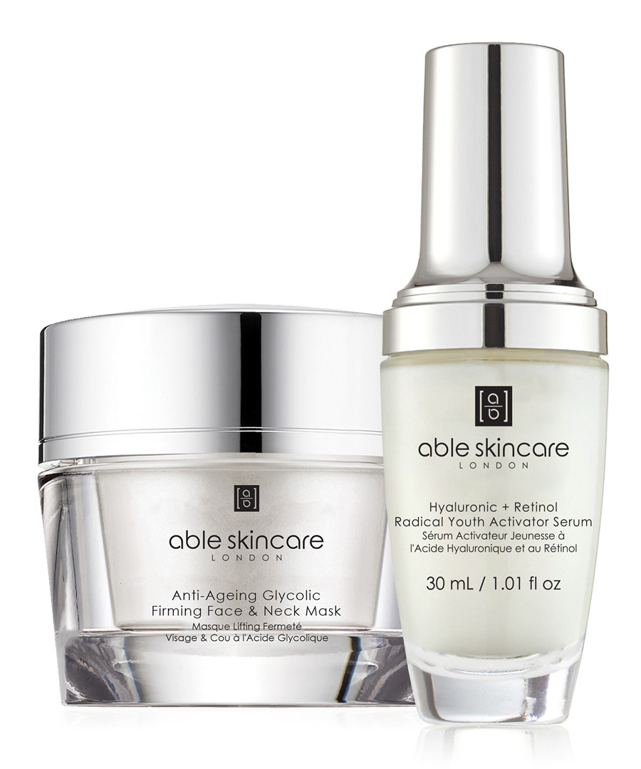 2pc Anti-Ageing mask & serum set Sale - able skincare