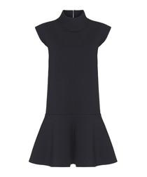 Viktoria black sleeveless dress