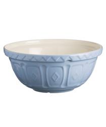 Lilac earthenware mixing bowl 24cm