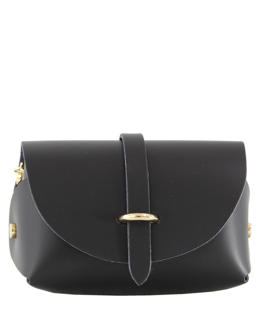 Black leather clutch Sale - Chicca Borse