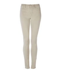 485 biscuit mid-rise super skinny jeans