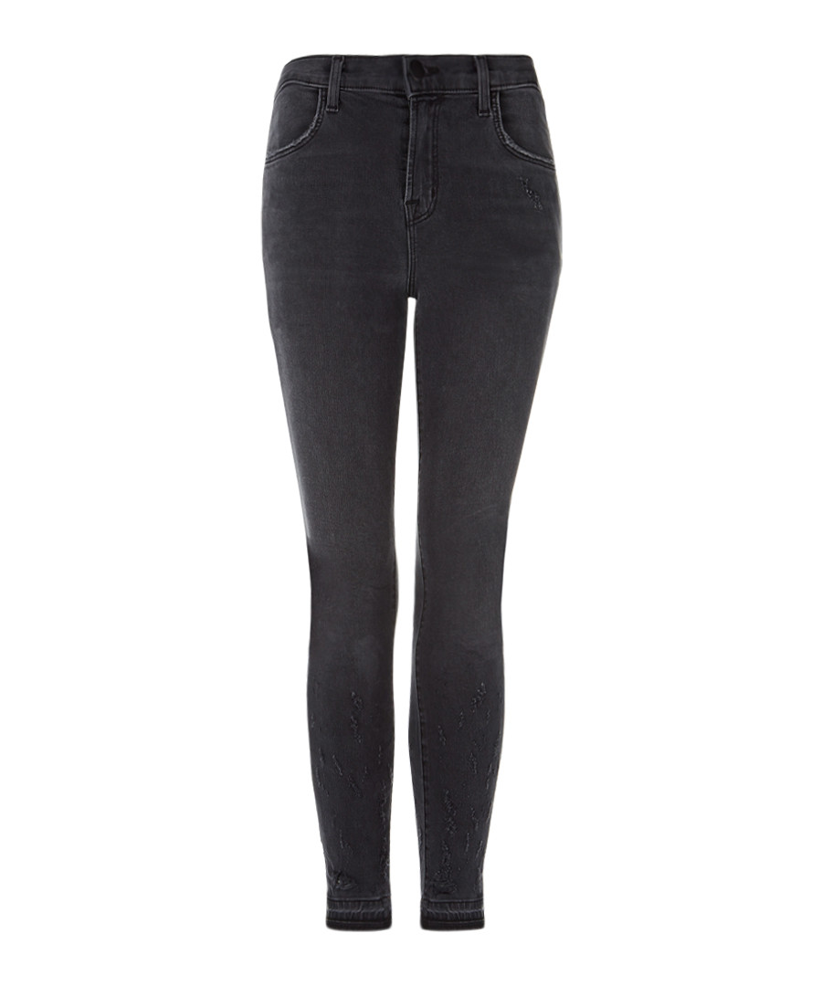 Alana grey high-rise crop skinny jeans Sale - J Brand
