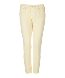 Sadey butter mid-rise straight jeans