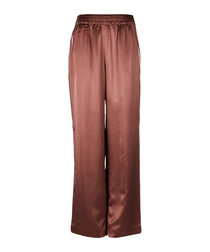 Ardon pottery silk blend trousers