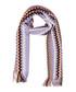 Lilac wool blend zig-zag knit scarf Sale - missoni Sale