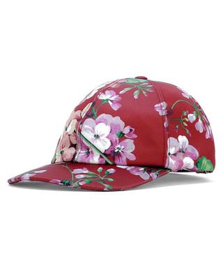 Blooms red floral baseball cap Sale - gucci Sale ca7d3d5f8552