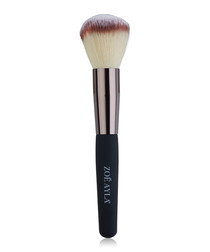 Black & beige powder brush