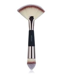 Black & beige contour make-up brush