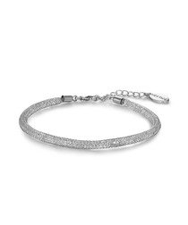 Alessia silver-tone mesh bracelet