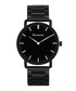 Easton black steel watch Sale - winstonne Sale