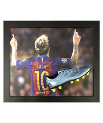 Lionel Messi signed boot