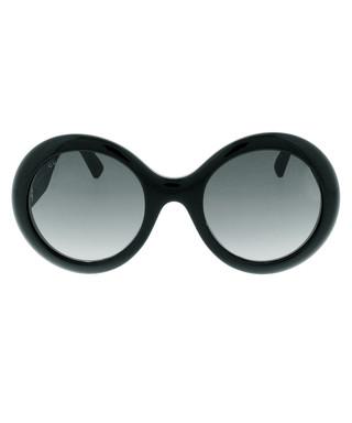de86030538b3 Black oversized round sunglasses Sale - Gucci Sale
