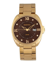 Amelia gold-tone stainless steel  watch