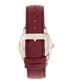 Sadie silver-tone steel & burgundy watch Sale - bertha Sale